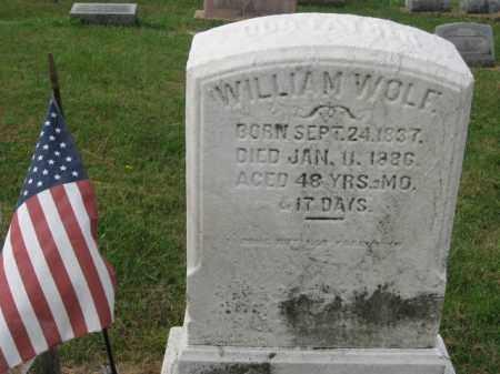 WOLF, WILLIAM - Lehigh County, Pennsylvania   WILLIAM WOLF - Pennsylvania Gravestone Photos