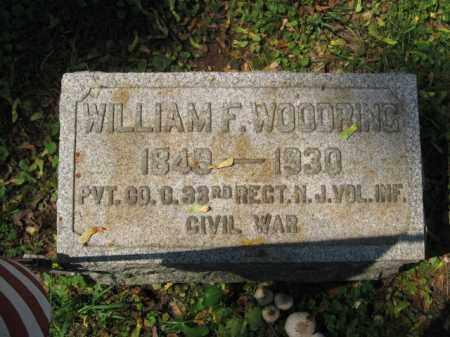 WOODRING, WILLIAM F. - Lehigh County, Pennsylvania | WILLIAM F. WOODRING - Pennsylvania Gravestone Photos
