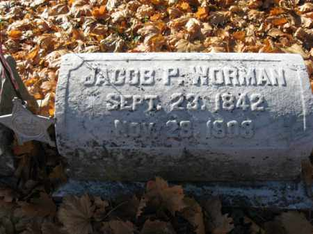 WORMAN (CW), SGT. JACOB P. - Lehigh County, Pennsylvania | SGT. JACOB P. WORMAN (CW) - Pennsylvania Gravestone Photos