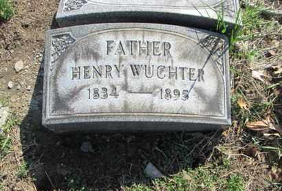 WUCHTER (CW), HENRY - Lehigh County, Pennsylvania | HENRY WUCHTER (CW) - Pennsylvania Gravestone Photos