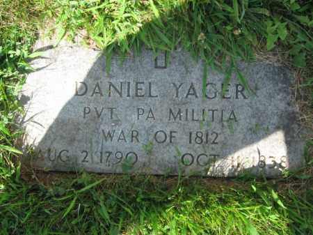 YAGER, DANIEL - Lehigh County, Pennsylvania | DANIEL YAGER - Pennsylvania Gravestone Photos