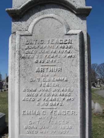 YEAGER  (CW), THOMAS C. - Lehigh County, Pennsylvania | THOMAS C. YEAGER  (CW) - Pennsylvania Gravestone Photos