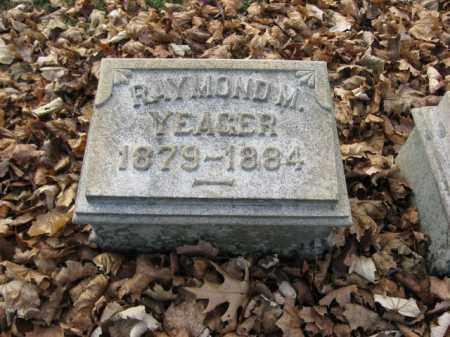YEAGER, RAYMOND M. - Lehigh County, Pennsylvania | RAYMOND M. YEAGER - Pennsylvania Gravestone Photos