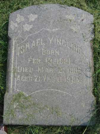 YINGLING, ISREAL - Lehigh County, Pennsylvania   ISREAL YINGLING - Pennsylvania Gravestone Photos