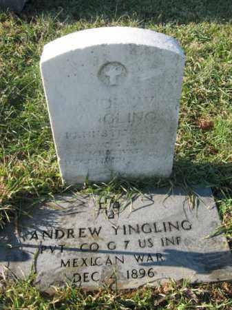 YINGLING, PVT. ANDREW - Lehigh County, Pennsylvania | PVT. ANDREW YINGLING - Pennsylvania Gravestone Photos