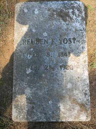 YOST, REUBEN - Lehigh County, Pennsylvania   REUBEN YOST - Pennsylvania Gravestone Photos