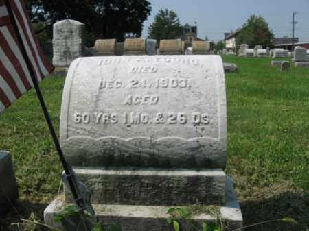 YOUNG, JOHN A. - Lehigh County, Pennsylvania   JOHN A. YOUNG - Pennsylvania Gravestone Photos