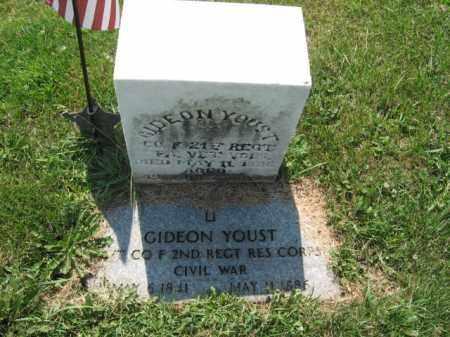 YOUST (YASTE) (CW), GIDEON - Lehigh County, Pennsylvania | GIDEON YOUST (YASTE) (CW) - Pennsylvania Gravestone Photos