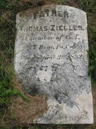 ZIEGLER (ZIGLER), THOMAS - Lehigh County, Pennsylvania   THOMAS ZIEGLER (ZIGLER) - Pennsylvania Gravestone Photos