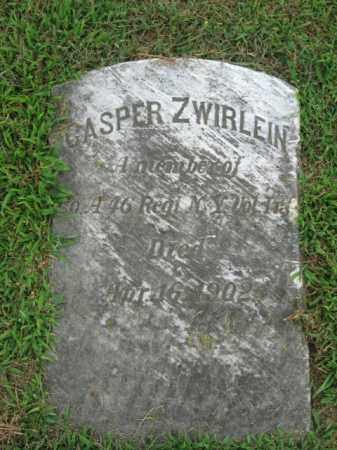 ZWIRLEIN, CASPER - Lehigh County, Pennsylvania | CASPER ZWIRLEIN - Pennsylvania Gravestone Photos