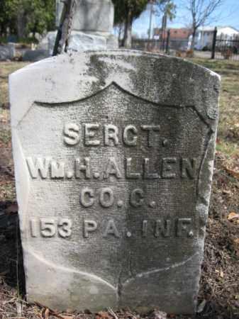 ALLEN (CW), M H. - Luzerne County, Pennsylvania | M H. ALLEN (CW) - Pennsylvania Gravestone Photos