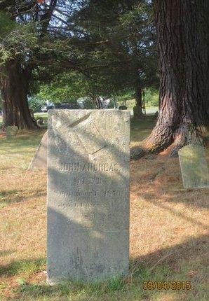 ANDREAS, JOHN - Luzerne County, Pennsylvania   JOHN ANDREAS - Pennsylvania Gravestone Photos