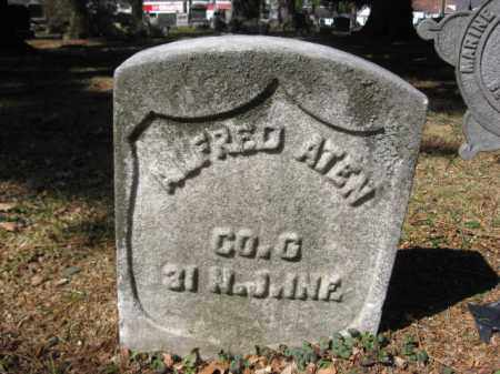 ATEN, ALFRED - Luzerne County, Pennsylvania   ALFRED ATEN - Pennsylvania Gravestone Photos