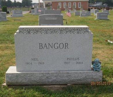BANGOR, NEIL - Luzerne County, Pennsylvania | NEIL BANGOR - Pennsylvania Gravestone Photos