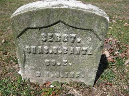 BANTA (CW), SERG. CHARLES G. - Luzerne County, Pennsylvania | SERG. CHARLES G. BANTA (CW) - Pennsylvania Gravestone Photos
