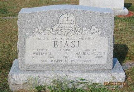 BIASI, WILLIAM J - Luzerne County, Pennsylvania | WILLIAM J BIASI - Pennsylvania Gravestone Photos