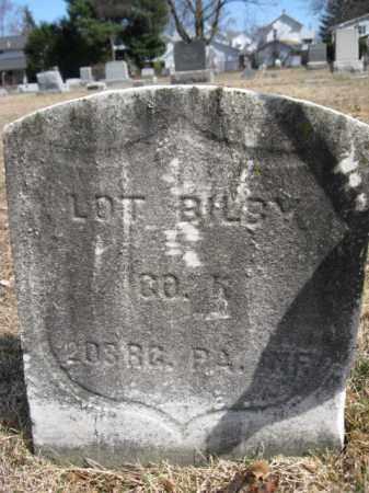 BILBY (CW), CORP.LOTT - Luzerne County, Pennsylvania | CORP.LOTT BILBY (CW) - Pennsylvania Gravestone Photos