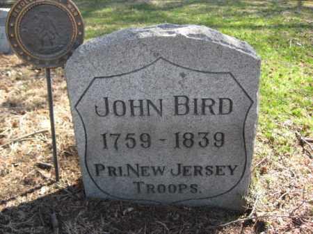 BIRD  (RW), JOHN - Luzerne County, Pennsylvania   JOHN BIRD  (RW) - Pennsylvania Gravestone Photos
