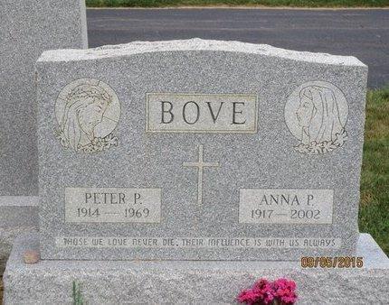BOVE, ANNA P - Luzerne County, Pennsylvania | ANNA P BOVE - Pennsylvania Gravestone Photos