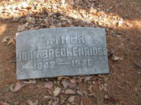 BRECKENRIDGE, JOHN - Luzerne County, Pennsylvania | JOHN BRECKENRIDGE - Pennsylvania Gravestone Photos