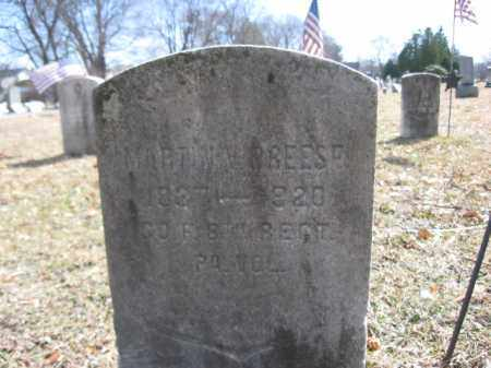 BREESE  (CW), MARTIN V. - Luzerne County, Pennsylvania | MARTIN V. BREESE  (CW) - Pennsylvania Gravestone Photos