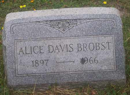 BROBST, ALICE - Luzerne County, Pennsylvania | ALICE BROBST - Pennsylvania Gravestone Photos