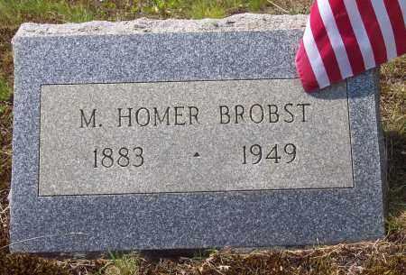 BROBST, MILTON HOMER - Luzerne County, Pennsylvania | MILTON HOMER BROBST - Pennsylvania Gravestone Photos