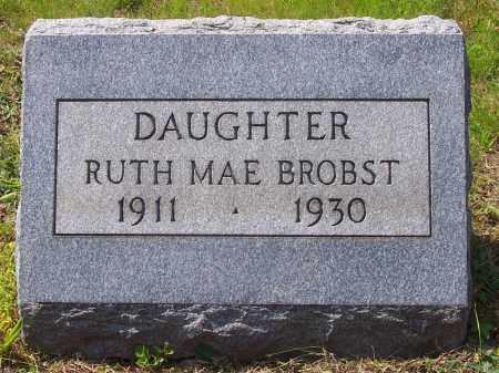 BROBST, RUTH MAE - Luzerne County, Pennsylvania   RUTH MAE BROBST - Pennsylvania Gravestone Photos