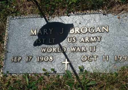 BROGAN (WW II), MARY J. - Luzerne County, Pennsylvania | MARY J. BROGAN (WW II) - Pennsylvania Gravestone Photos