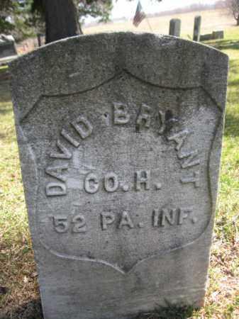 BRYANT (CW), DAVID - Luzerne County, Pennsylvania | DAVID BRYANT (CW) - Pennsylvania Gravestone Photos