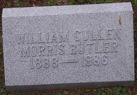 BUTLER, WILLIAM CULLEN MORRIS - Luzerne County, Pennsylvania | WILLIAM CULLEN MORRIS BUTLER - Pennsylvania Gravestone Photos