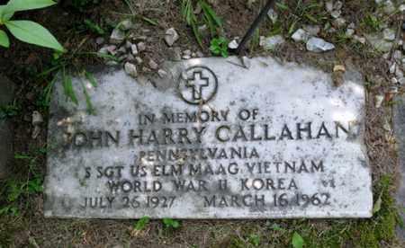 CALLAHAN, JOHN HARRY - Luzerne County, Pennsylvania   JOHN HARRY CALLAHAN - Pennsylvania Gravestone Photos