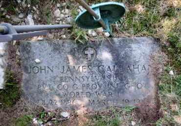 CALLAHAN, JOHN JAMES - Luzerne County, Pennsylvania | JOHN JAMES CALLAHAN - Pennsylvania Gravestone Photos