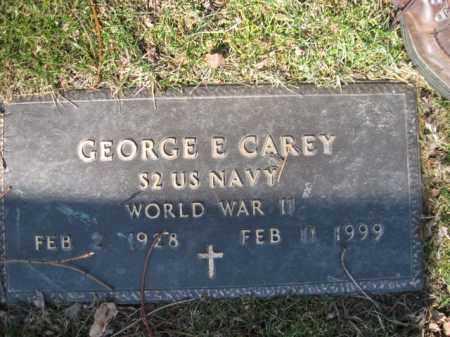 CAREY  (WW II), GEORGE E. - Luzerne County, Pennsylvania   GEORGE E. CAREY  (WW II) - Pennsylvania Gravestone Photos