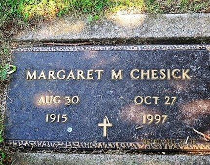 CHESICK, MARGARET M - Luzerne County, Pennsylvania | MARGARET M CHESICK - Pennsylvania Gravestone Photos