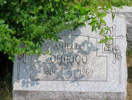 CHIRICO, ANIELLO - Luzerne County, Pennsylvania | ANIELLO CHIRICO - Pennsylvania Gravestone Photos