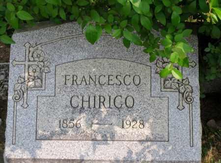 CHIRICO, FRANCESCO - Luzerne County, Pennsylvania | FRANCESCO CHIRICO - Pennsylvania Gravestone Photos