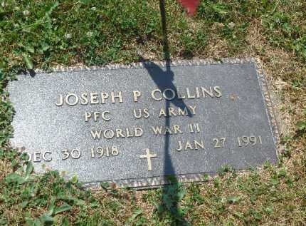 COLLINS (WW II), JOSEPH P. - Luzerne County, Pennsylvania | JOSEPH P. COLLINS (WW II) - Pennsylvania Gravestone Photos