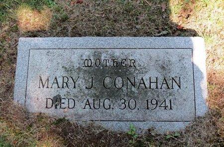 CONAHAN, MARY J. - Luzerne County, Pennsylvania | MARY J. CONAHAN - Pennsylvania Gravestone Photos