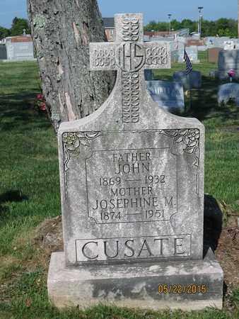 CUSATE, JOSEPHINE M. - Luzerne County, Pennsylvania | JOSEPHINE M. CUSATE - Pennsylvania Gravestone Photos