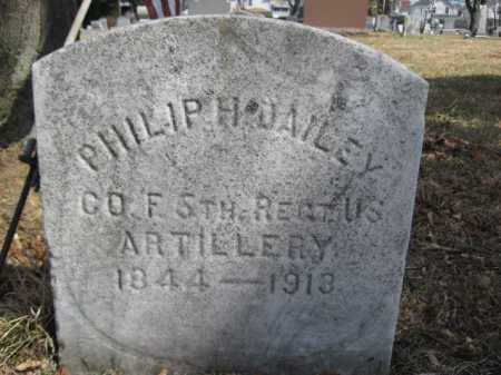 DAILEY (CW), PHILLIP H. - Luzerne County, Pennsylvania | PHILLIP H. DAILEY (CW) - Pennsylvania Gravestone Photos