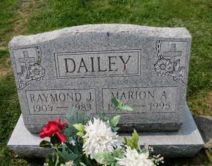 DAILEY, MARION A. - Luzerne County, Pennsylvania | MARION A. DAILEY - Pennsylvania Gravestone Photos