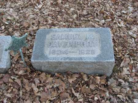 DAVENPORT, SAMUEL M. - Luzerne County, Pennsylvania   SAMUEL M. DAVENPORT - Pennsylvania Gravestone Photos