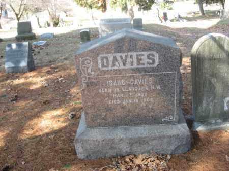 DAVIES, ISAAC - Luzerne County, Pennsylvania | ISAAC DAVIES - Pennsylvania Gravestone Photos