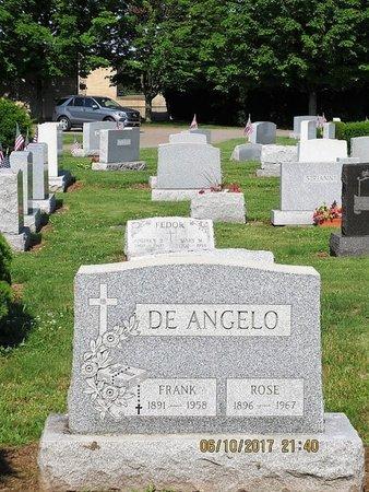 DEANGELO, FRANK - Luzerne County, Pennsylvania | FRANK DEANGELO - Pennsylvania Gravestone Photos