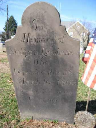 DENISON  (RW), NATHAN - Luzerne County, Pennsylvania | NATHAN DENISON  (RW) - Pennsylvania Gravestone Photos