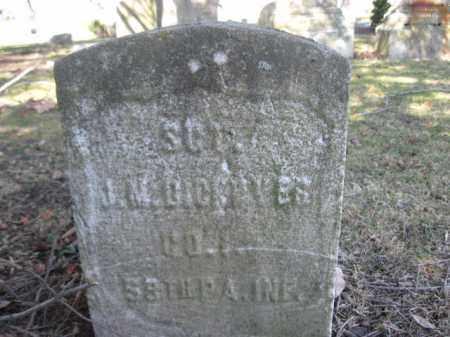 DICKOVER (CW), SGT.JOHN M. - Luzerne County, Pennsylvania | SGT.JOHN M. DICKOVER (CW) - Pennsylvania Gravestone Photos