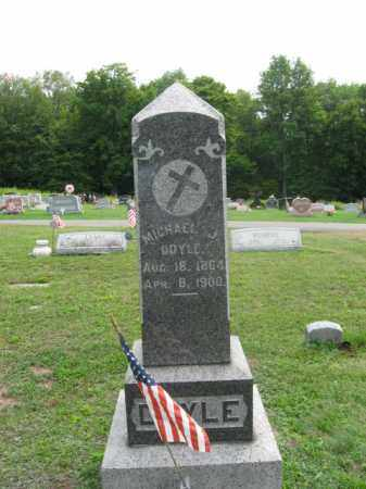 DOYLE, MICHAEL  J. - Luzerne County, Pennsylvania | MICHAEL  J. DOYLE - Pennsylvania Gravestone Photos