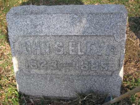 ELEY,1ST., JOHN S. - Luzerne County, Pennsylvania   JOHN S. ELEY,1ST. - Pennsylvania Gravestone Photos