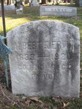ERVIN  (CW), ALBERT - Luzerne County, Pennsylvania   ALBERT ERVIN  (CW) - Pennsylvania Gravestone Photos